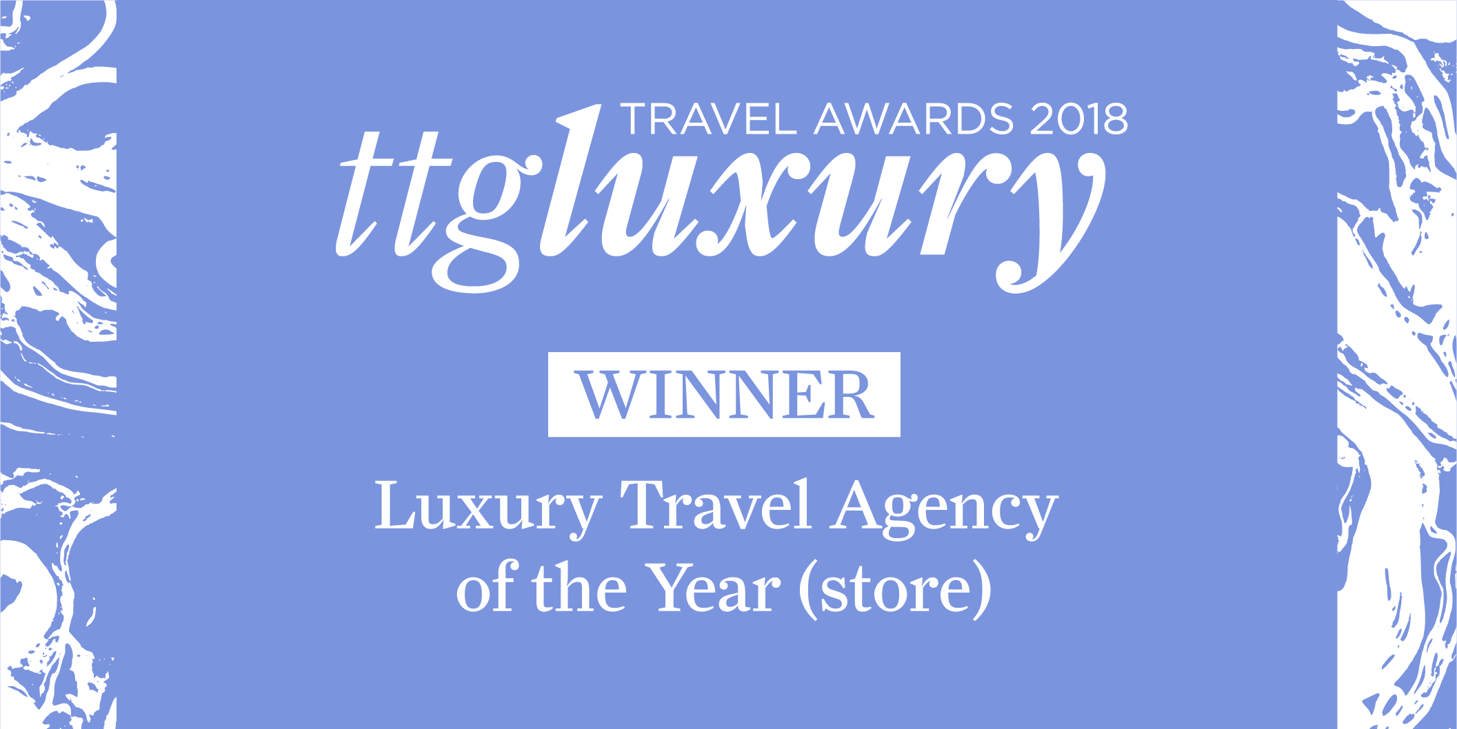 Luxury Travel Agency of the Year (store) TTGLA18 - WINNER-01